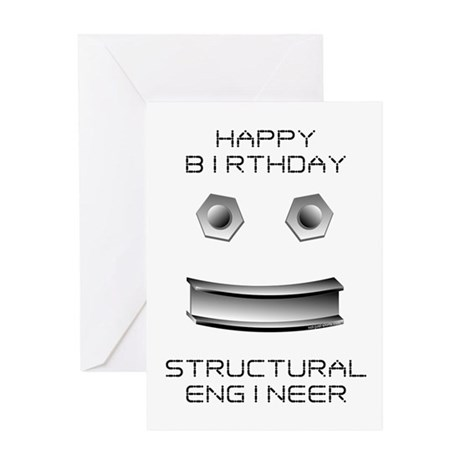 Structural Engineer Birthday Blank Greeting Card Not Jpg 460x460 Happy It