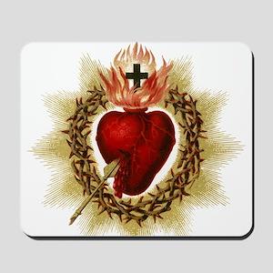 Sacred Heart Mousepad