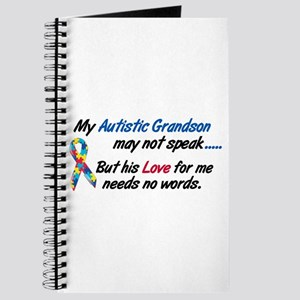Needs No Words 1 (Grandson) Journal