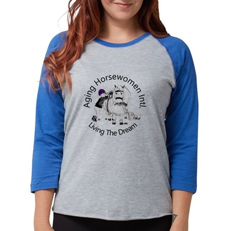 aging Horsewomen Intl. Logo Long Sleeve T-Shirt