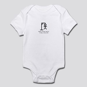 Every woman wants a well hung Infant Bodysuit