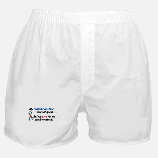 Needs No Words 1 (Brother) Boxer Shorts