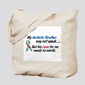 Needs No Words 1 (Brother) Tote Bag