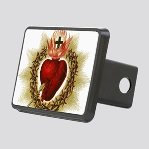 Sacred Heart Rectangular Hitch Cover