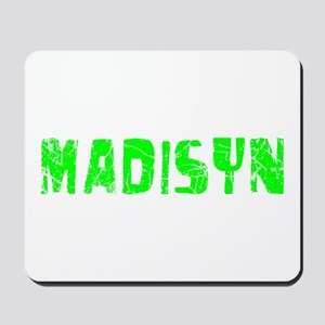 Madisyn Faded (Green) Mousepad