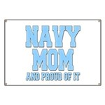 Navy Mom and Proud of it Banner