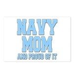 Navy Mom and Proud of it Postcards (Package of 8)