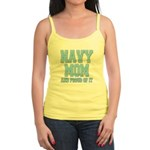 Navy Mom and Proud of it Jr. Spaghetti Tank