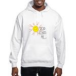 God Loves Me Hooded Sweatshirt