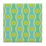 Bombshell Tropical Tile Coaster