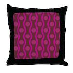 Bombshell Grape Throw Pillow