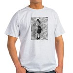 Black on Black Tracy Ash Grey T-Shirt