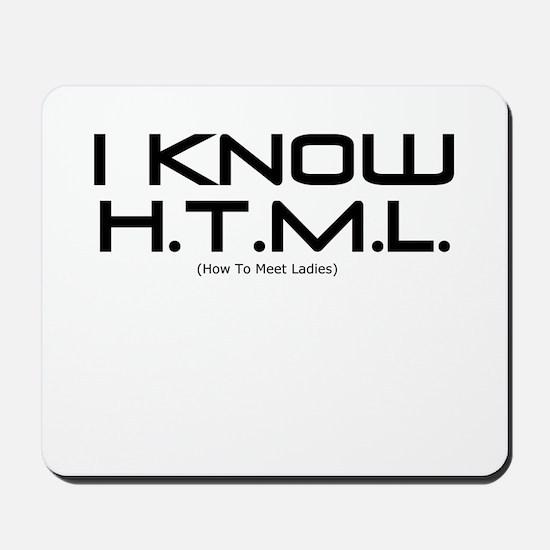 I know HTML Mousepad