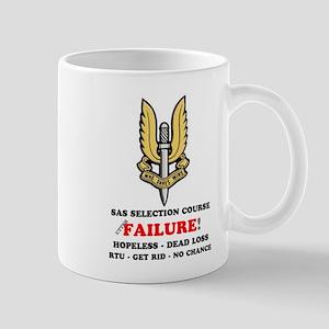 SAS SELECTION COURSE - FAILURE! DEAD LOSS - Mugs