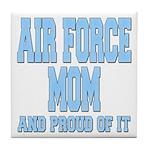 Air Force Mom Tile Coaster