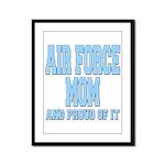 Air Force Mom Framed Panel Print