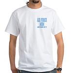 Air Force Mom White T-Shirt
