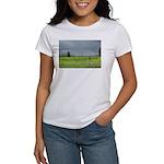 Mailbox and Field Scenic Women's T-Shirt