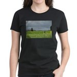 Mailbox and Field Scenic Women's Dark T-Shirt