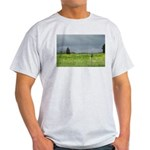 Mailbox and Field Scenic Light T-Shirt