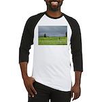 Mailbox and Field Scenic Baseball Jersey