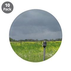 """Mailbox and Field Scenic 3.5"""" Button (10 pack"""
