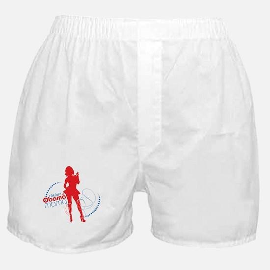 freaky obama mama - red' Boxer Shorts