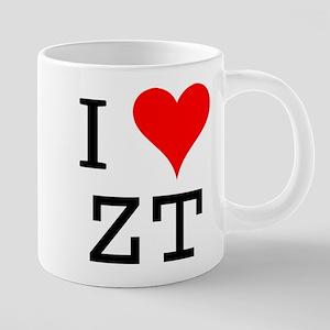I Love ZT Mugs