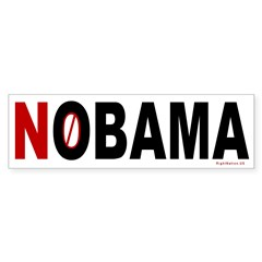 NOBAMA Bumper Bumper Sticker