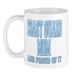 Coast Guard Mom Proud of it Mug