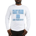 Coast Guard Mom Proud of it Long Sleeve T-Shirt