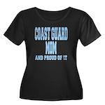 Coast Guard Mom Proud of it Women's Plus Size Scoo