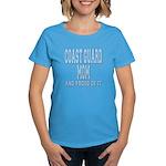 Coast Guard Mom Proud of it Women's Dark T-Shirt