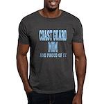 Coast Guard Mom Proud of it Dark T-Shirt