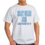 Coast Guard Mom Proud of it Light T-Shirt