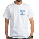 Coast Guard Mom Proud of it White T-Shirt