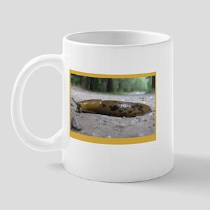 Banana Slug in Forest Mug
