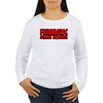 Grindhouse Database Women's Long Sleeve T-Shir