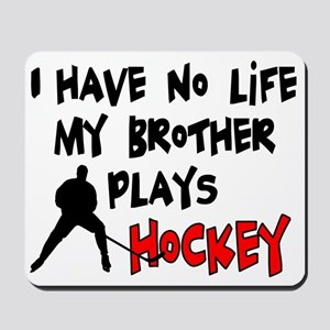 No Life Brother Mousepad