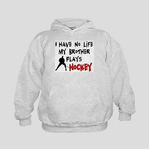 No Life Brother Kids Hoodie