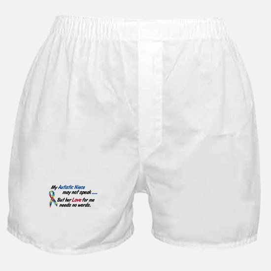 Needs No Words 1 (Niece) Boxer Shorts
