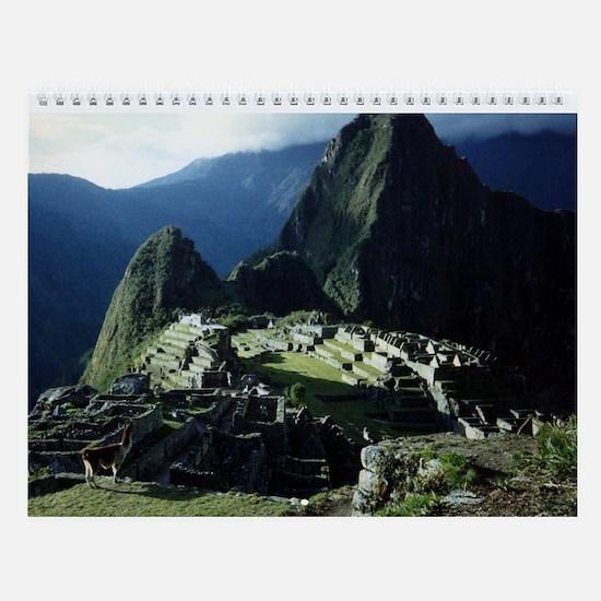 MACHU PICCHU Wall Calendar