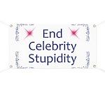 End Celebrity Stupidity Banner