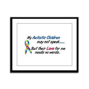 Needs No Words 1 (Children) Framed Panel Print