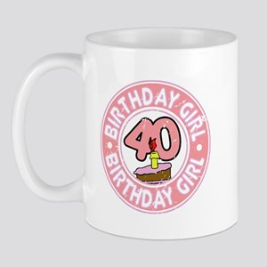 Birthday Girl #40 Mug