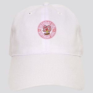 Birthday Girl #50 Cap