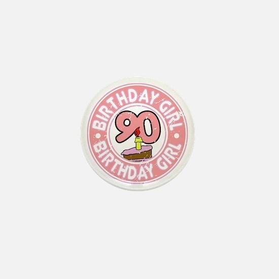 Birthday Girl #90 Mini Button