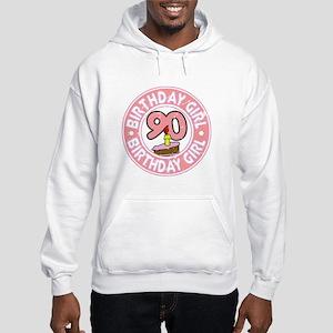 Birthday Girl #90 Hooded Sweatshirt