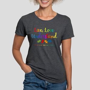 Live Love Understand Womens Tri-Blend T-Shirt