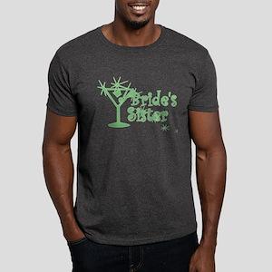 Green C Martini Bride's Sister Dark T-Shirt